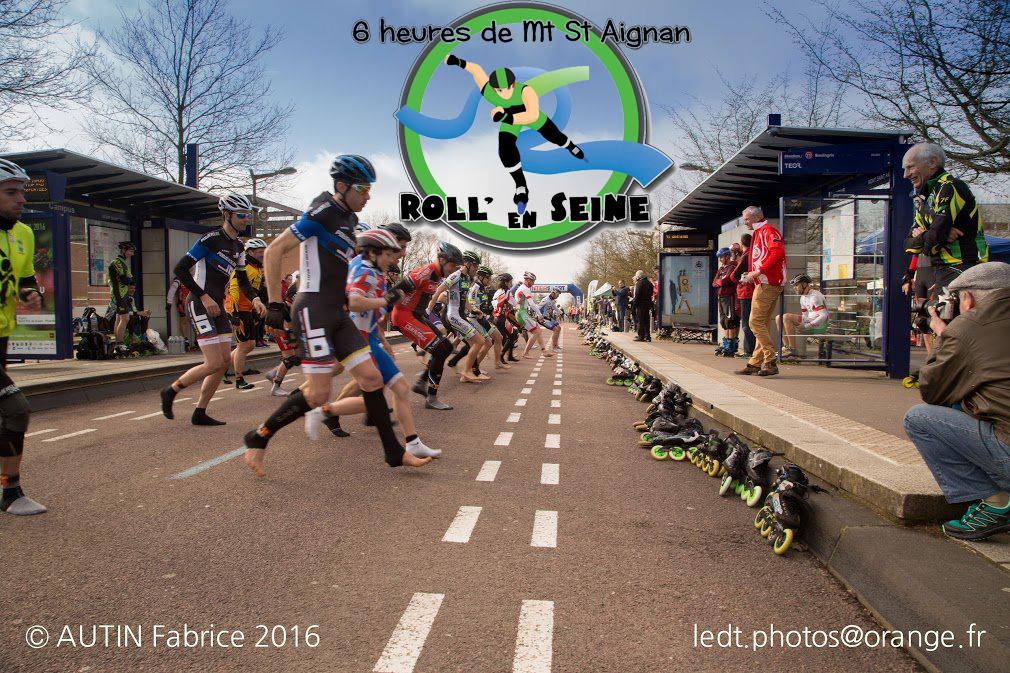 Mont-Saint-Aignan - 6 Heures Roll\' en Seine - Ligne Droite Roller