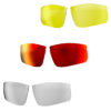 impress small glossy red verres